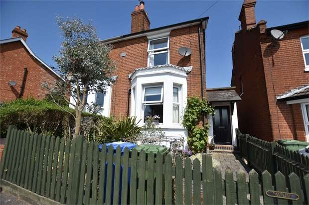 3 Bedrooms Semi Detached House for sale in Dunley Villas, Forest Road, Binfield, Berkshire