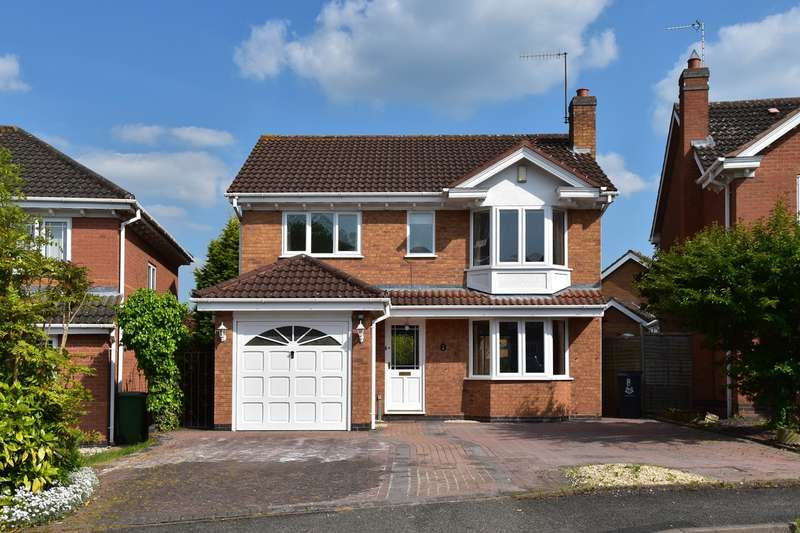 4 Bedrooms Detached House for sale in Stotfield Avenue, Lyppard Kettleby, Warndon Villages, Worcester, WR4