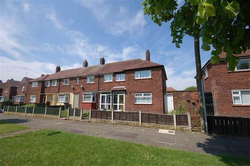 3 Bedrooms End Of Terrace House for sale in Elm Drive, Crewe