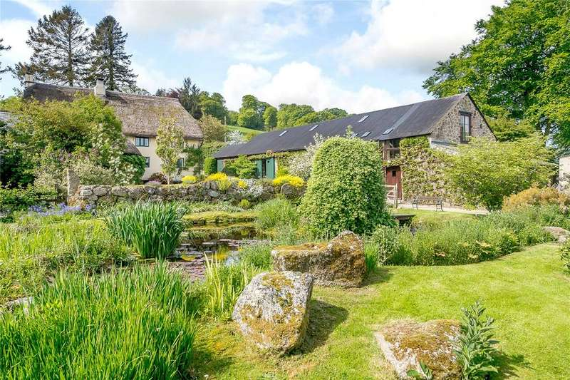 4 Bedrooms Detached House for sale in Chagford, Newton Abbot, Devon