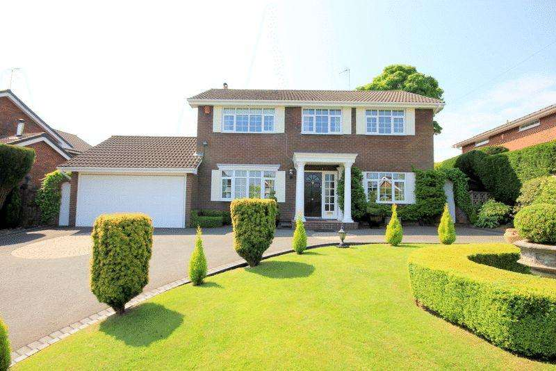 4 Bedrooms Detached House for sale in Meadow Lane, Fulford