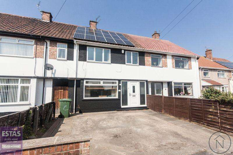 3 Bedrooms Terraced House for sale in Ravensworth Road, Billingham