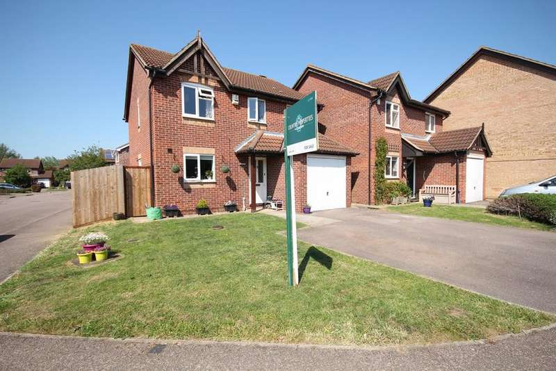 4 Bedrooms Detached House for sale in Elgar Drive, Shefford, SG17