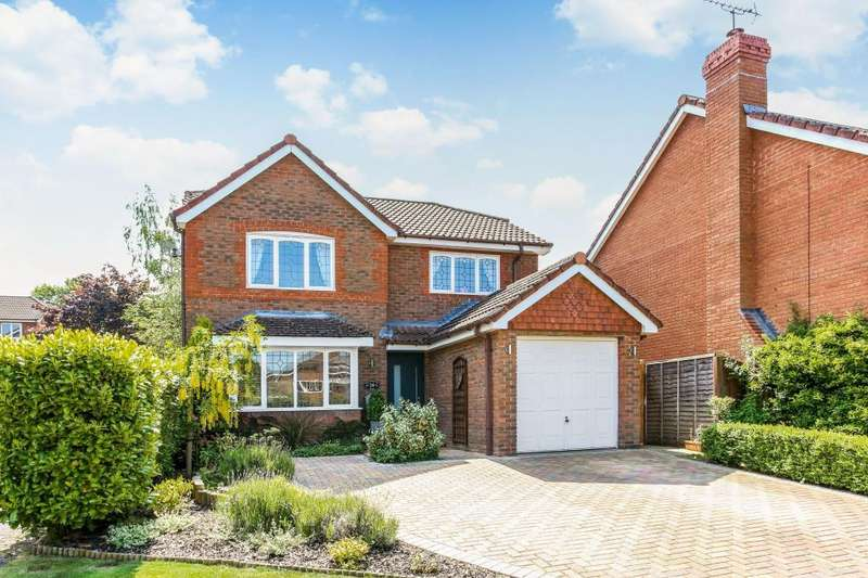 4 Bedrooms Detached House for sale in Plantagenet Park, Warfield