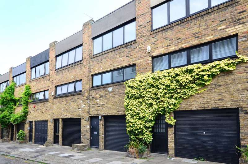 3 Bedrooms Mews House for sale in Jeffreys Place, Camden, NW1