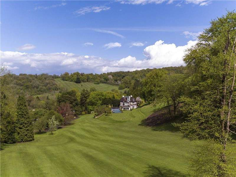 7 Bedrooms Detached House for sale in Butlers Dene Road, Woldingham, Caterham, Surrey, CR3