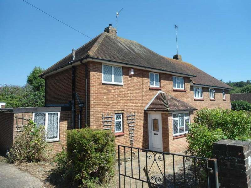 3 Bedrooms Semi Detached House for sale in Ashburnham Drive, Coldean