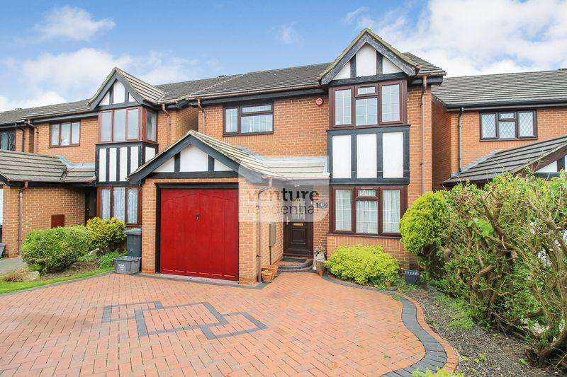 4 Bedrooms Detached House for sale in Tameton Close, Luton