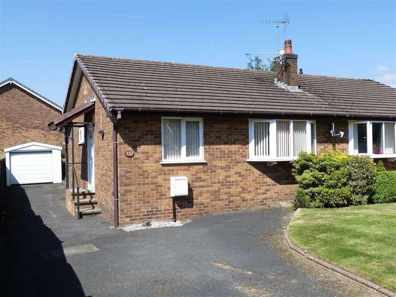 2 Bedrooms Semi Detached Bungalow for sale in Hillwood Drive, Glossop