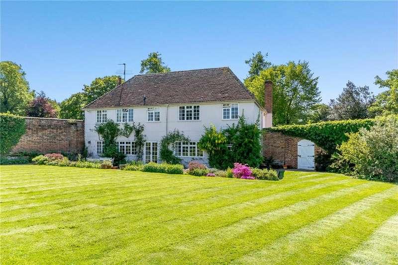 4 Bedrooms Detached House for sale in Newtown, Newbury, Berkshire, RG20
