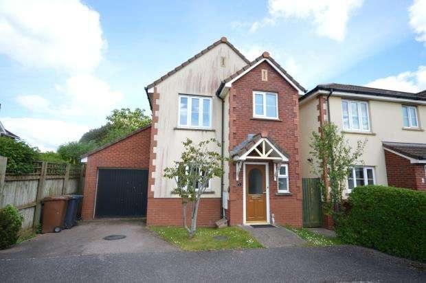 3 Bedrooms Detached House for sale in Pinbridge Mews, Pinhoe, Exeter, Devon