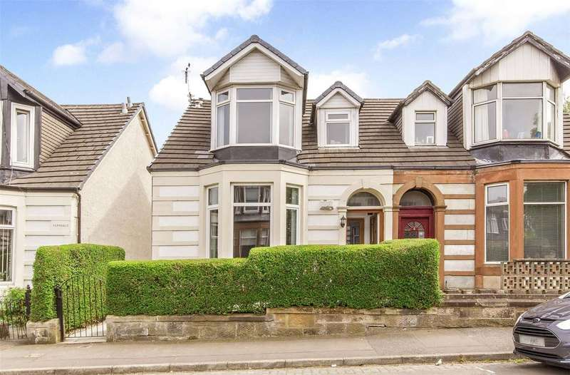 4 Bedrooms Semi Detached House for sale in 10 Maryland Drive, Bellahouston, Glasgow, G52