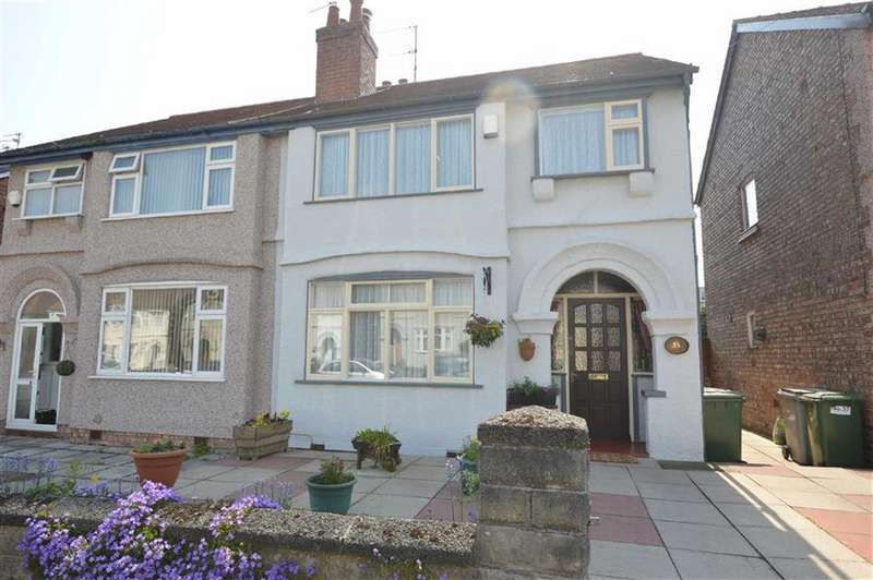 3 Bedrooms Semi Detached House for sale in Beresford Avenue, Bebington, CH63