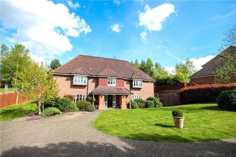 5 Bedrooms Detached House for sale in Ibworth Lane, Fleet, GU51