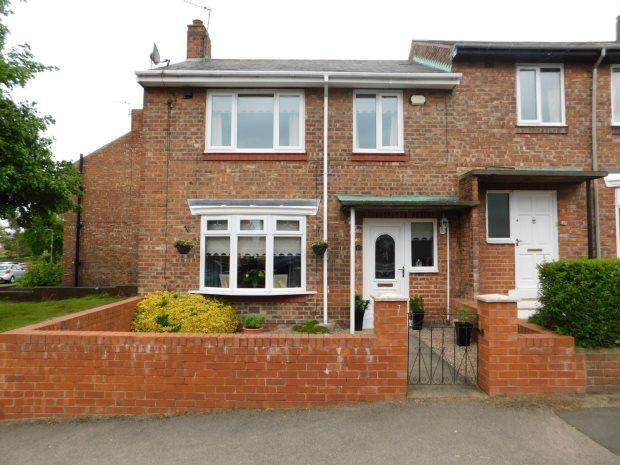2 Bedrooms Semi Detached House for sale in WAKENSHAW ROAD, GILESGATE, DURHAM CITY