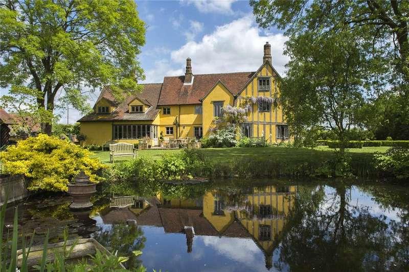 5 Bedrooms Detached House for sale in Felsham, Bury St Edmunds, Suffolk, IP30