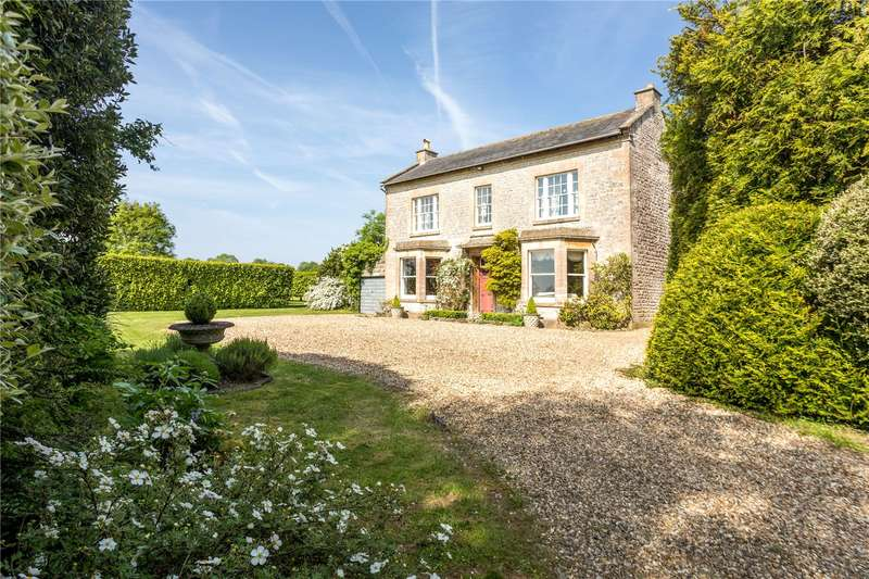 5 Bedrooms Detached House for sale in The Green, Goatacre, Calne, Wiltshire, SN11