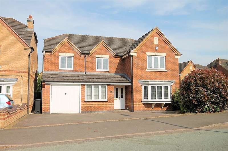 5 Bedrooms Detached House for sale in Tamworth Road, Kettlebrook, Tamworth, Staffordshire