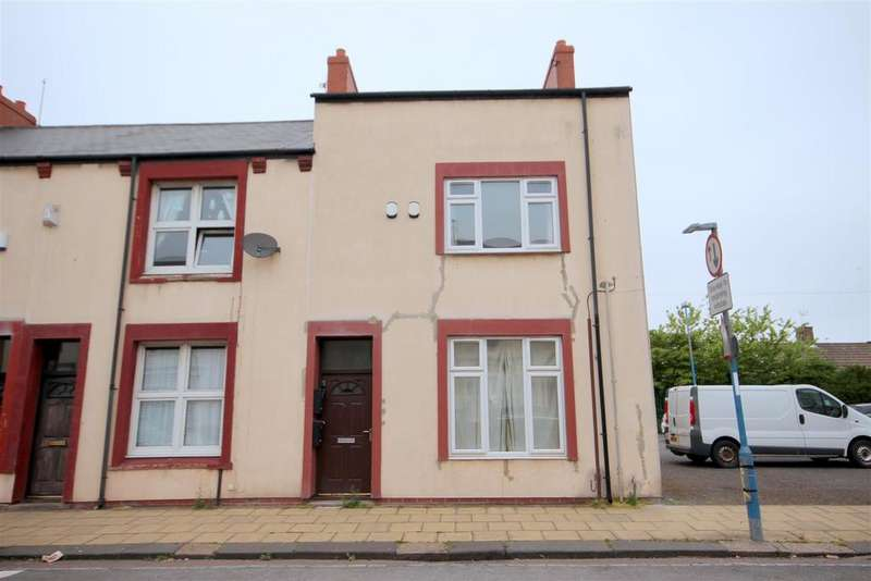 3 Bedrooms End Of Terrace House for sale in Burbank Street, Hartlepool