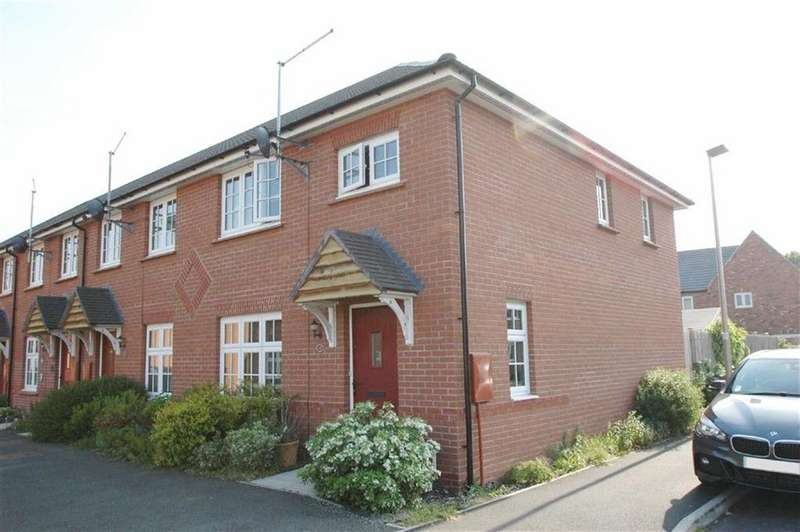 3 Bedrooms End Of Terrace House for sale in Kohima Crescent, Saighton, Chester