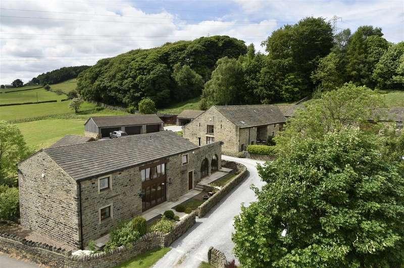 5 Bedrooms Detached House for sale in Blantyres Barn, Hill End Lane, Harden, Bingley, BD16 1DE
