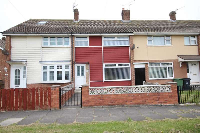 3 Bedrooms Terraced House for sale in Miller Crescent, King Oswy, Hartlepool