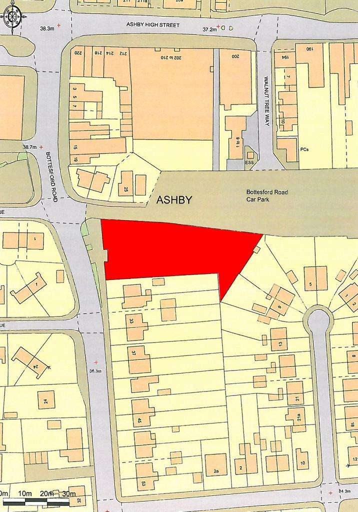 Land Commercial for sale in Bottesford Road, Scunthorpe, North Lincolnshire, DN16