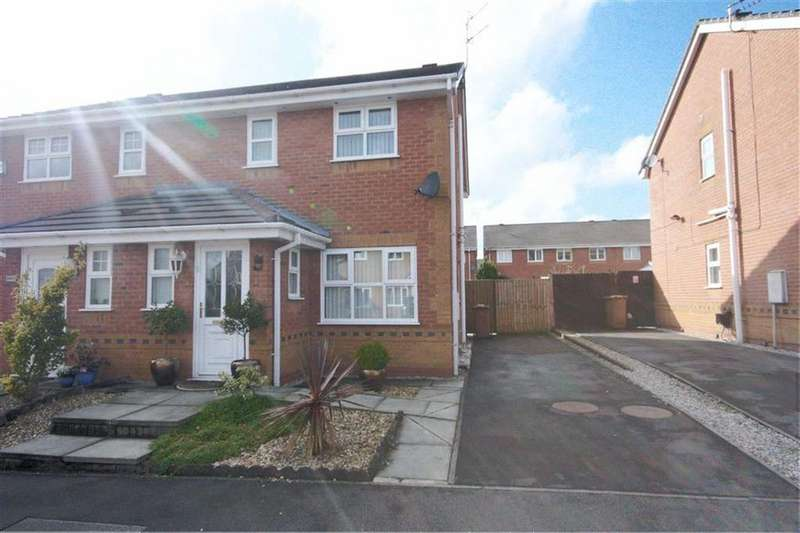 2 Bedrooms Semi Detached House for sale in The Hedgerows, Haydock, St Helens, WA11