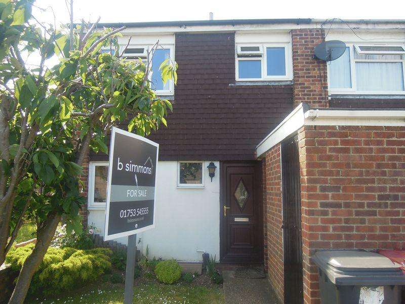 3 Bedrooms End Of Terrace House for sale in Cheviot Road, Langley