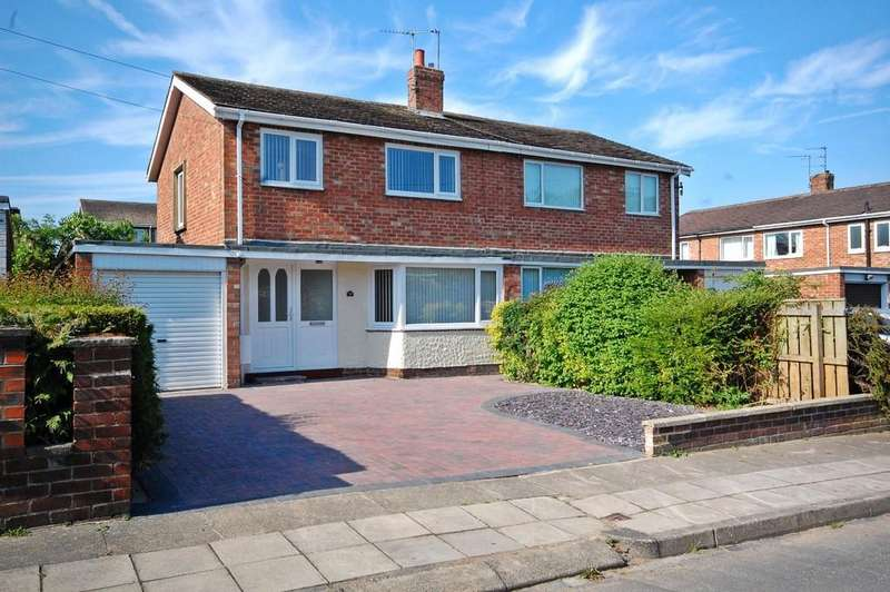 3 Bedrooms Semi Detached House for sale in Langley Road, Newton Hall, Durham