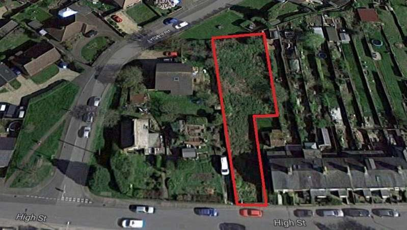 Land Commercial for sale in High Street, Arlesey