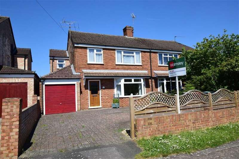 3 Bedrooms Semi Detached House for sale in Hilltop Road, Caversham Heights, Reading