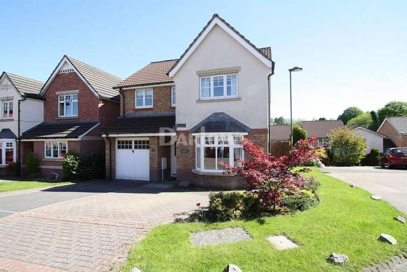 4 Bedrooms Detached House for sale in Maes-y-garreg, Rassau, Ebbw Vale, Gwent