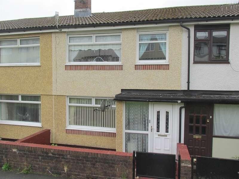 3 Bedrooms Terraced House for sale in Tan Y Bryn, Rhymney, Tredegar