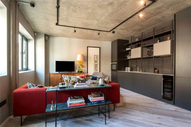 1 Bedroom Flat for sale in Curtain Road, London, EC2A