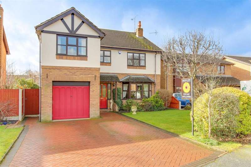 5 Bedrooms Detached House for sale in Ffordd Ystrad, Coed-Y-Glyn, Wrexham
