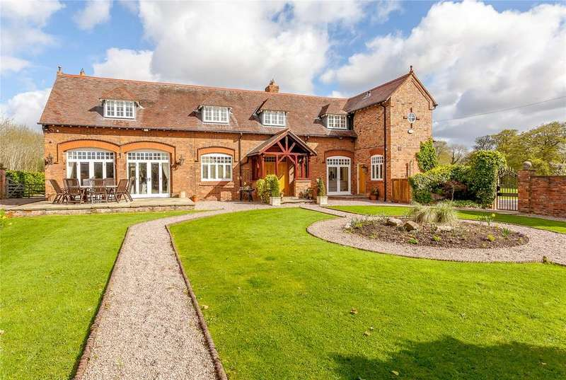 5 Bedrooms Detached House for sale in Lodge Lane, Dutton, Nr Warrington, Cheshire, WA4