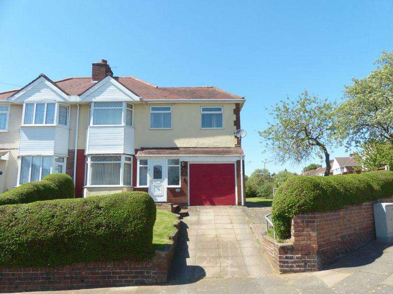3 Bedrooms Semi Detached House for sale in Endhill Road, Kingstanding, Birmingham