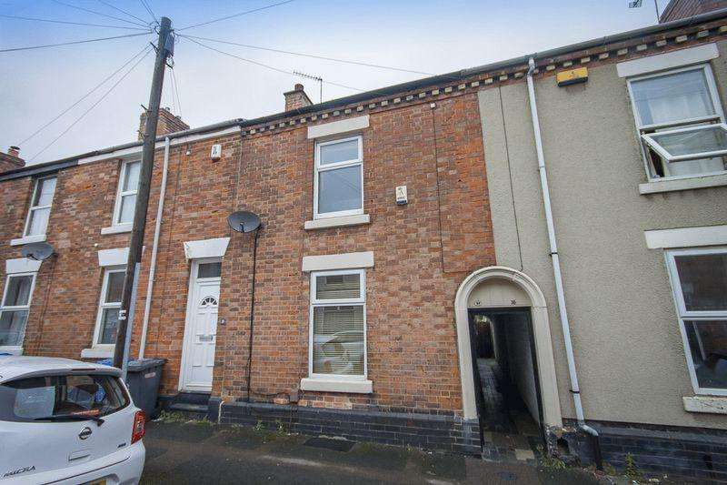 2 Bedrooms Terraced House for sale in Crosby Street, Derby