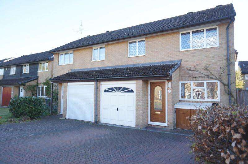 4 Bedrooms Semi Detached House for sale in Forresters Drive, Welwyn Garden City