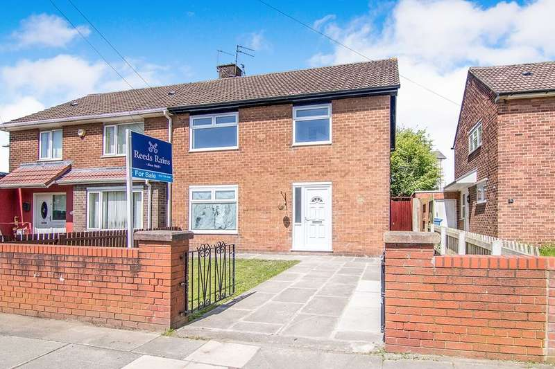 4 Bedrooms Semi Detached House for sale in Ampulla Road, Liverpool, L11
