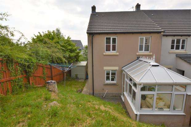3 Bedrooms End Of Terrace House for sale in Treetop Close, Pillmere, Saltash, Cornwall