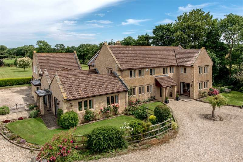 6 Bedrooms Detached House for sale in Suggs Lane, Broadway, Ilminster, Somerset, TA19