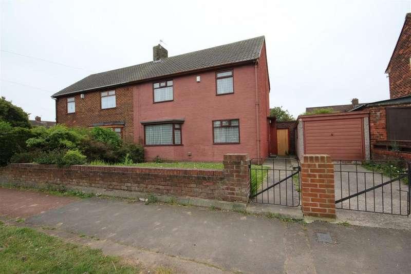 3 Bedrooms Semi Detached House for sale in Callander Road, Rossmere, Hartlepool