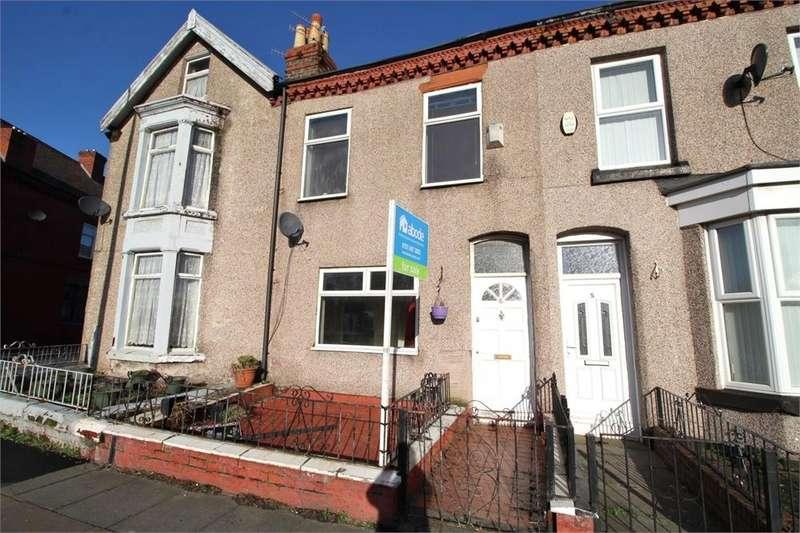 2 Bedrooms Terraced House for sale in Beaconsfield Terrace, St Marys Road, Garston, Merseyside