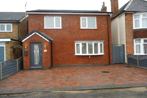 3 Bedrooms Detached House for sale in Kings Drive, Leicester Forest East, LE3