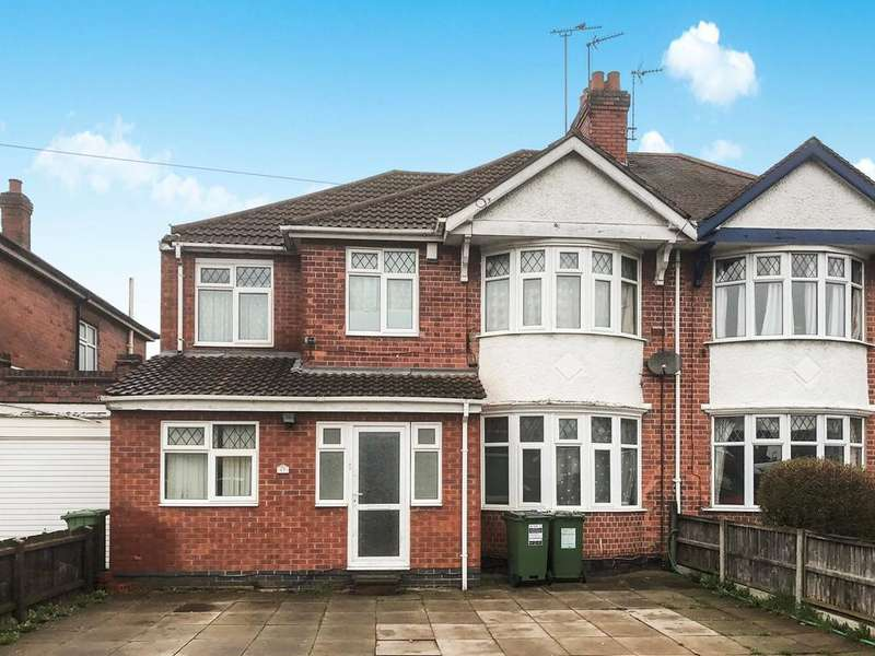 6 Bedrooms Semi Detached House for sale in Narborough Road South, Leicester, LE3
