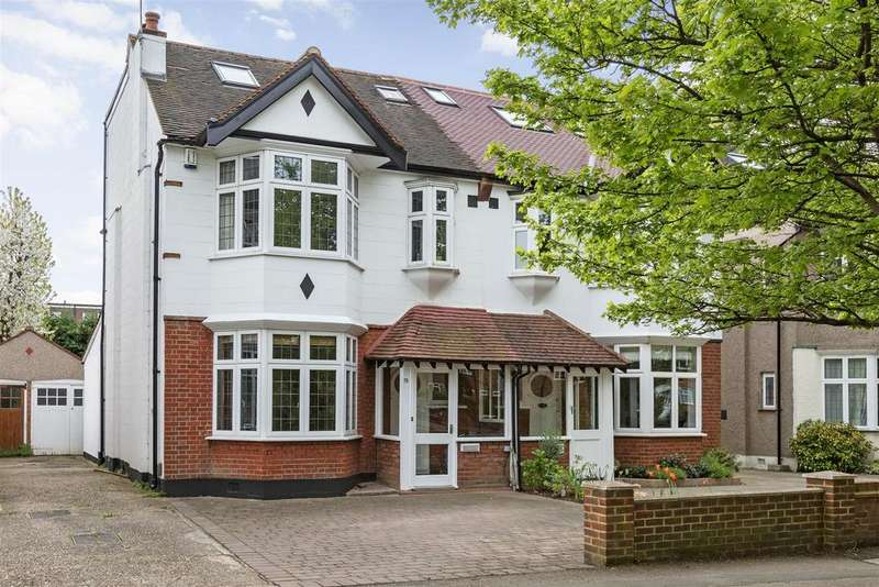 5 Bedrooms Semi Detached House for sale in Coombe Lane, Wimbledon
