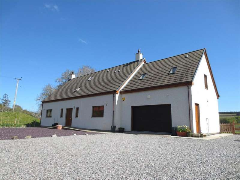 5 Bedrooms Detached House for sale in The Gees, Syall, Ardgay, Highland, IV24