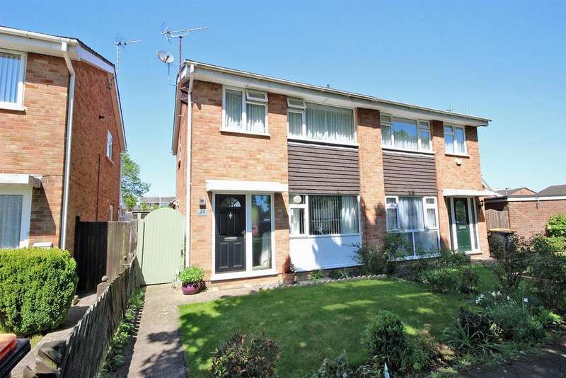 3 Bedrooms Semi Detached House for sale in Burleigh Place, Oakley, Bedford